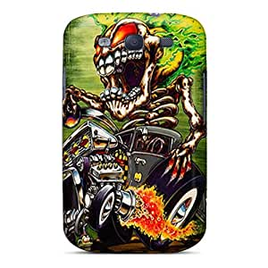 New Premium BraventJohnason Monster Skin Cases Covers Excellent Fitted For Galaxy S3