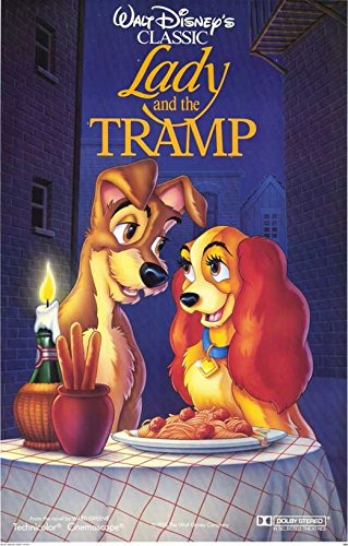 Lady and the Tramp Poster Movie C 11x17