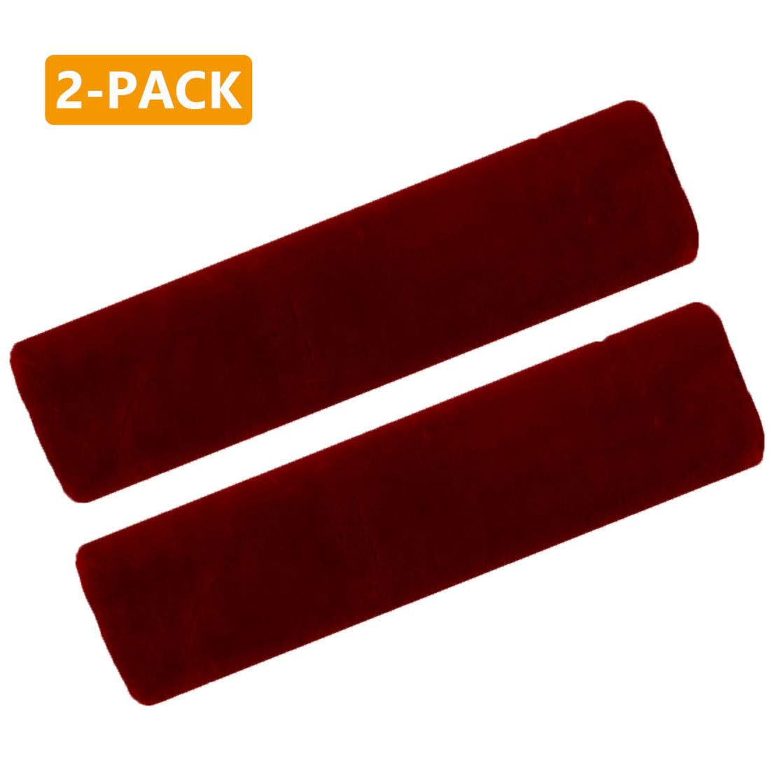 Wine Red Backpack Shoulder Bag Airzir Car Seat Belt Cover Pad Suitable for Car Seat Belt Laptop Bag 2-Pack Soft Car Seat Belt Shoulder Pad Cover for Adults and Kids A Must Have for Your Car