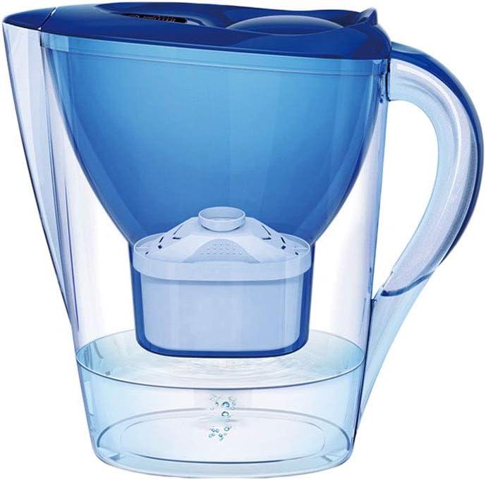 MHUI 2,8 l de Agua del Grifo Filtro de Bebida Máquina de Agua de Cocina para Eliminar Incrustaciones y Eliminar Cloro Residual Caldera de carbón Activado Natural