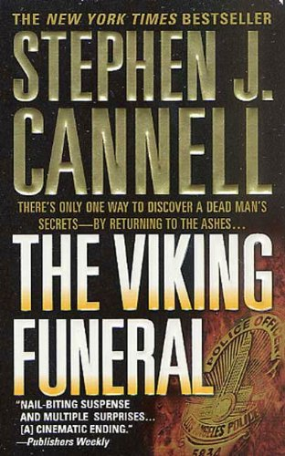 book cover of The Viking Funeral
