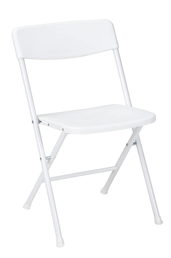 Amazon.com: 4 sillas plegables con liberadores de asiento y ...