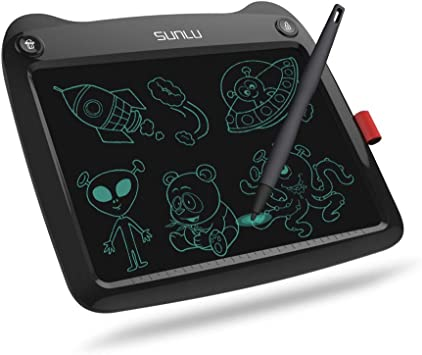 LCD Writing Tablet White Handwriting Paper Drawing Tablet Home /& School Use Kids Gift for Girls//Boys Doodle Board 9 Electronic Writing /& Drawing Board
