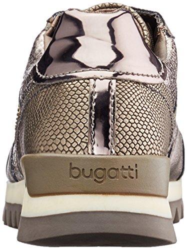 Zapatillas casa 422276015050 Bugatti Braun de Metallic Mujer Taupe wt5qqFSzf