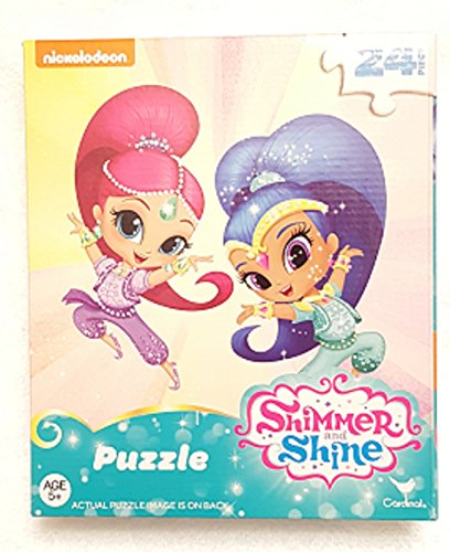 Shimmer and Shine 24-Piece Jigsaw Puzzle ~ Shimmer & Shine