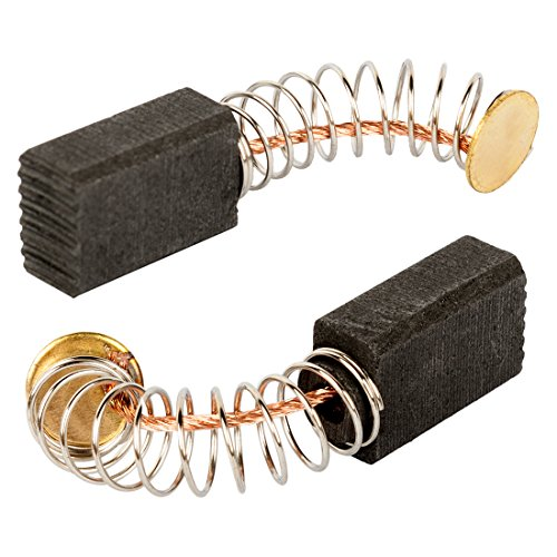 uxcell Carbon Brushes for Electric Motors Replacement 13mm x 8mm x 5mm Set of 2