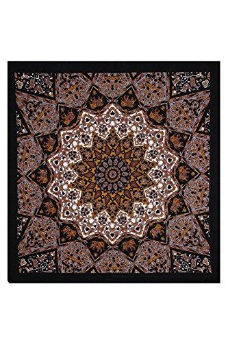 Joy Handkerchief (Sunshine Joy India Star Bandana Orange and Grey)