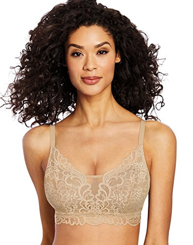 Bali Women's Lace Bra, Latte Lift, 3X Large