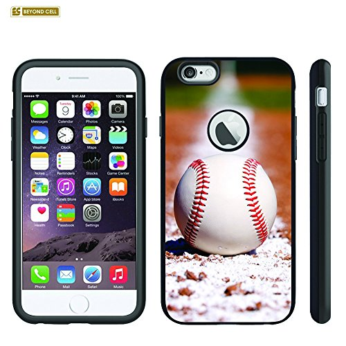 Spots8® Heavy Duty Slim Fit Case for iPhone 6S & iPhone 6 [Baseball Ball]