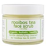 Rooibos Tea Gentle Face Scrub [Detox] with micro jojoba wax spheres, 2oz