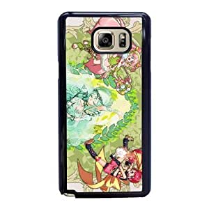 The best gift for Halloween and Christmas Samsung Galaxy Note 5 Cell Phone Case Black Pretty Cure RPR1709468
