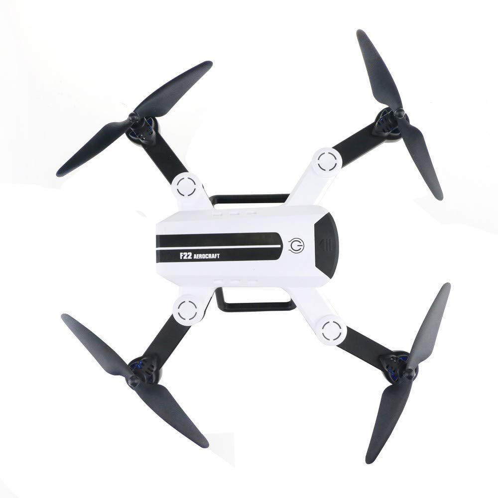 CYCTECH Wide Angle 720P HD Camera WiFi FPV Foldable 6-Axis Gyro RC Quadcopter, Gyro Pocket Quadcopter with Gesture [Photographing, One-Button 360° Flip and 11Mins Flying Time by CYCTECH