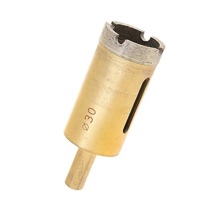 Oro SM SunniMix Punta Trapano Sega Tazza Piastrelle Impianto Idraulico Marmo Granito Diamante Foratura 25mm