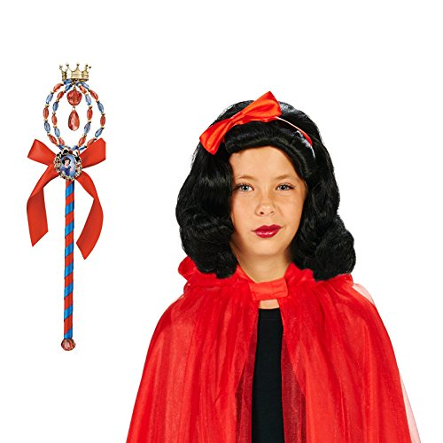 BirthdayExpress Snow White Wig and Wand Bundle (Snow White And The Huntsman Outfits)