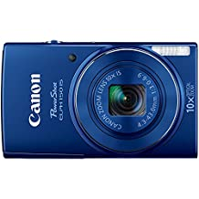 Canon PowerShot ELPH 150 IS 20MP 10X Optical Zoom Digital Camera - Blue