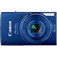 Canon 9359B001 20 megapixel, PowerShot ELPH 150 IS Digital Camera (Blue)