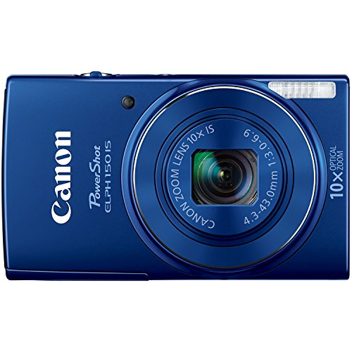 - Canon PowerShot ELPH 150 IS Digital Camera (Blue)