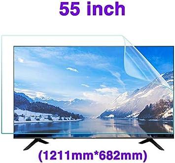 DPPAN 55 Pulgadas Anti Luz Azul TV Protección de Pantalla para Televisor, Ultra Claro LED Antirreflejos Screen Protector, LCD Película Protectora Protección Ojos,A: Amazon.es: Electrónica