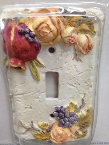 - Bountiful Bouquet Light Switch Cover