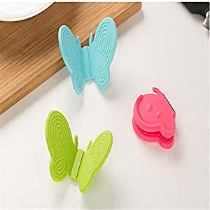 Kitchen Cooking Mouse Insulated Non-slip butterfly Gloves Microwave Oven No-slip Mitt