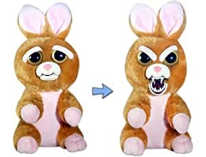 0386a7aa96cd Feisty Pets Vicky Vicious Adorable Plush Stuffed Bunny That Turns Feisty  with a Squeeze