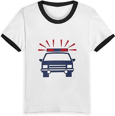 Queen Elena Police Car, 2 – 6Y Cartoon Print Boys T Shirt ...
