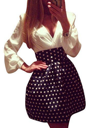 Polka Dot Poodle Dress - 6