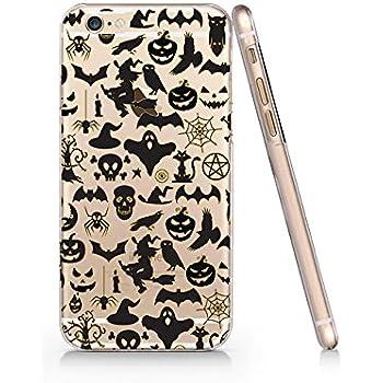 Amazon.com: Halloween Ghost Skull Pumpkin Iphone 6 6s Case