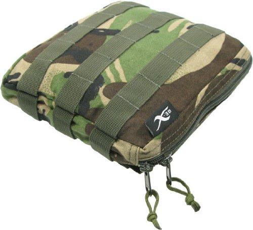 BE-X Stapelbare Tasche -Shingle gross- mit MOLLE, für MOLLE - woodland DPM