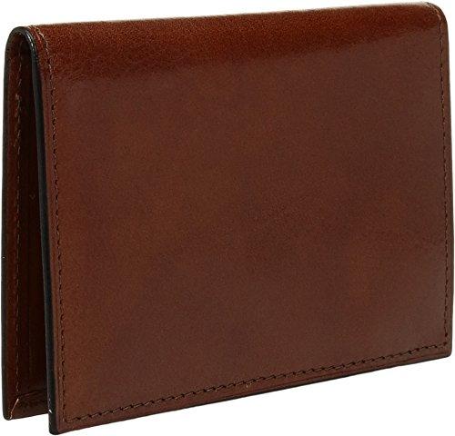 Case Amber Leather 8 Genuine Card Credit Pocket Bosca Men's 0qEA8