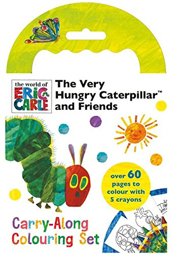 Hungry Caterpillar The Very Childrens Carry Along Colouring Set Activity Gift