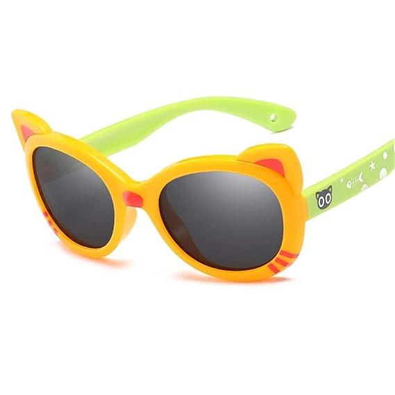 Wang-RX Gafas de sol para niños Gafas polarizadas Ojo de ...