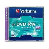 1PK DVD-RW 4X 4.7GB with Jewel Case