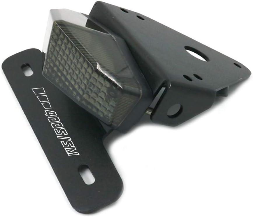 Smoke crazy sport License LED Brake Tail Lights Holder For SUZUKI DRZ400 S//SM DR-Z 400 DRZ400SM DRZ400S DRZ DRZ400 2019 Motorcycle Tail Tidy Fender Eliminato LED Brake Lights