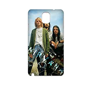 Generic Custom Phone Case For Man Print With Rock Band Nirvana For Samsung Galaxy Note3 Full Body Choose Design 1-4