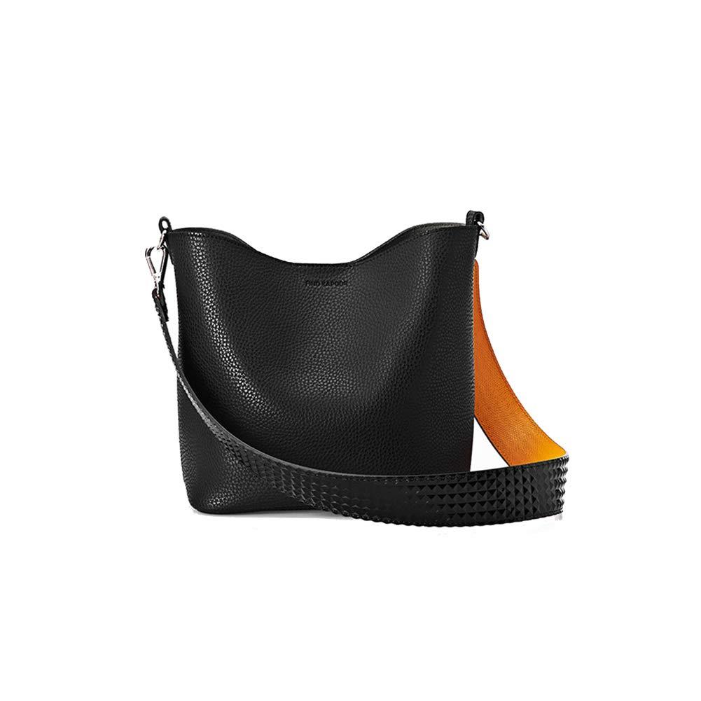 DeLamode Koreanische PINGO-Taschen-Grundlinie Schulter-Bunte Eimer-Taschen Rosa B07K5NMF8Q Einkaufstaschen