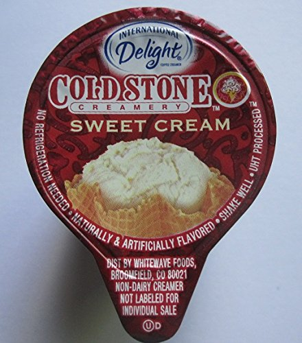 Delight Coffee Cream (International Delight Cold Stone Creamery Sweet Cream Coffee Creamer Single Serve Cups Case of 288)