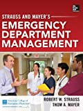 img - for Strauss and Mayer's Emergency Department Management book / textbook / text book