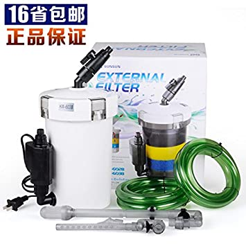Pecera equipos de filtración del acuario de cerámica filtro de pecera denso pequeño acuario barril filtro externo ultra silencioso: Amazon.es: Oficina y ...