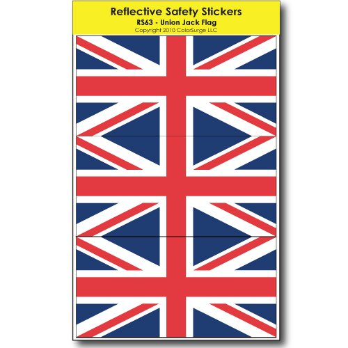 Union Jack Reflective Safety Decals