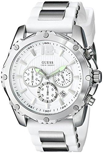 GUESS U0167G2 White Chronograph Sport