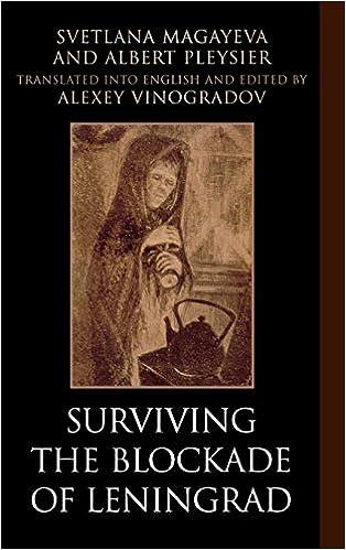 Book Surviving the Blockade of Leningrad