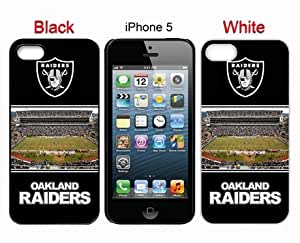 Diy Iphone 5 Case Iphone 5s Cases NFL Oakland Raiders 8 Free Shipping