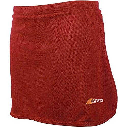 Grays Ladies G600 Hockey Skort Skirt / Short Red