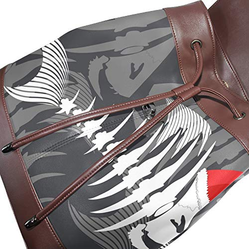 Taille pour femme à dos au DragonSwordlinsu porté multicolore Sac main unique zwHY6