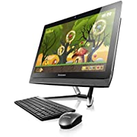 Lenovo C50-30 - F0B100KWUS - 23 Multi- touch screen All-in-One computer - Intel Core i5-5200U (2C, 2.2 / 2.7 GHz, 3MB, 1600MHz) - 8GB RAM - 1TB HDD - Windows 10 home - White