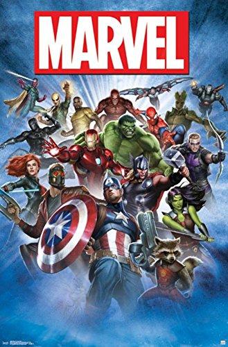 Trends International Marvel Group Shot Wall Poster 22.375