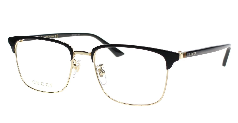 60193399c09 Gucci Men s Eyeglasses Gg 0130 O- 001 001  Amazon.co.uk  Clothing