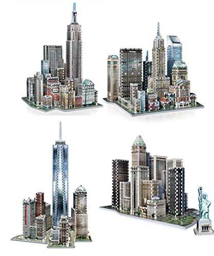 wrebbit-3d-puzzle-new-york-collection-bundle-world-trade-financial-midtown-east-midtown-west-3500-to