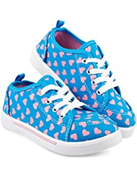 Fashion Canvas Sneakers for Girls Youth, Toddlers & Kids...